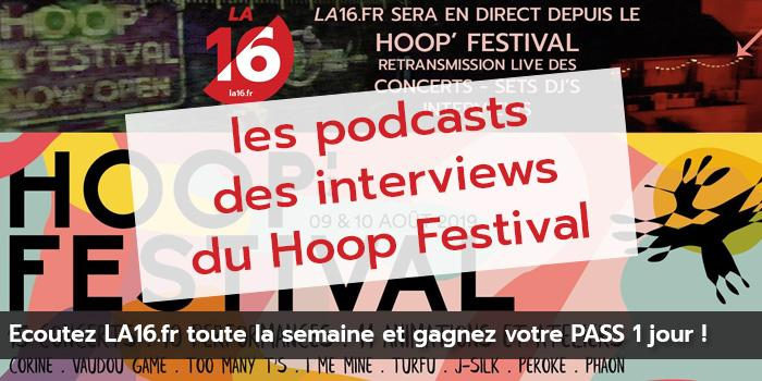 Les podcasts et les photos